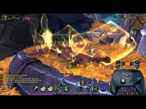 World Of Warcraft With The Steam Controller
