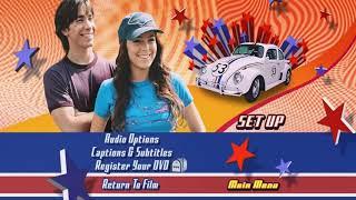 Herbie Fully Loaded DVD Menu Walkthrough