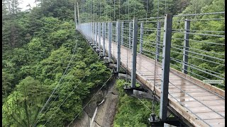 白水の滝と吊り橋 thumbnail