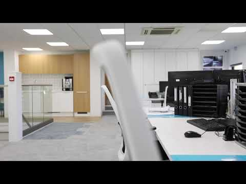 Commercial office fit out for PolarSeal, Farnham, Surrey