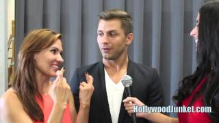 Season 11 - Anya & Pasha Interview, SO YOU THINK YOU CAN DANCE Live Shows Week 3