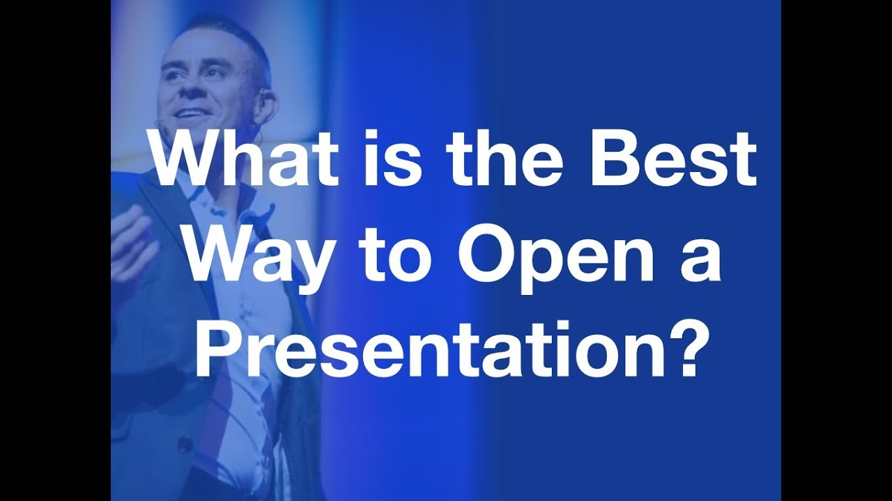 Best way for presentation