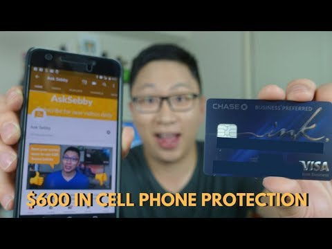 How to Use the Chase Ink Preferred Cell Phone Protection