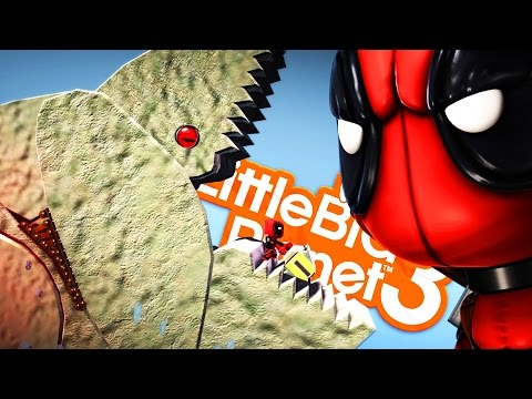 KILLER WHALES ATTACK! - Little Big Planet 3 (LittleBigPlanet