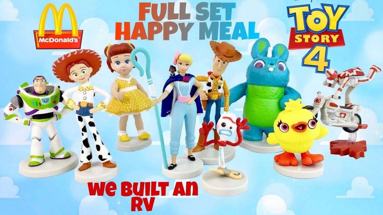 Toy Story 4 Movie Usa Mcdonald S Happy Meal Toys June