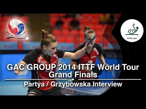 World Tour Grand Finals: Interview - Grzybowska & Partyka