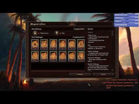 Decadency has beaten The Ultimate in Pillars of Eternity 2 Deadfire! |