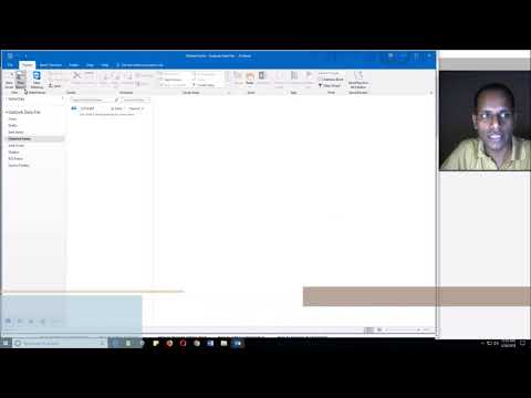 How to Unhide Bcc Recipients in Outlook | Always Unhide the Bcc filed in Outlook 2016 - Hindi