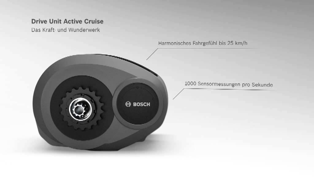 drive unit active cruise antrieb f r ebikes mit der bosch. Black Bedroom Furniture Sets. Home Design Ideas