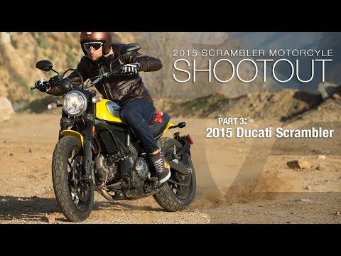 2015 Ducati Scrambler - Scrambler Shootout Part 3 - MotoUSA