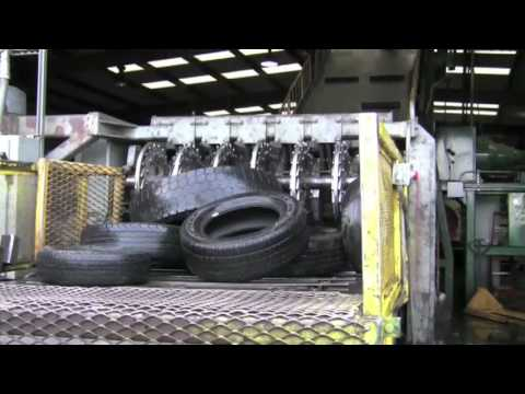 tire recycling company west coast rubber youtube