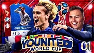 FIFA 18: YOUnited World Cup TOTS #1 Ultimate Team deutsch