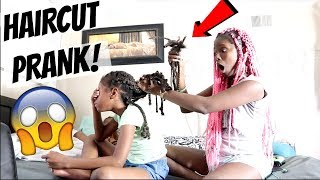 """HAIRCUT PRANK"" ON DAUGHTER‼️(GONE WRONG) 😳 