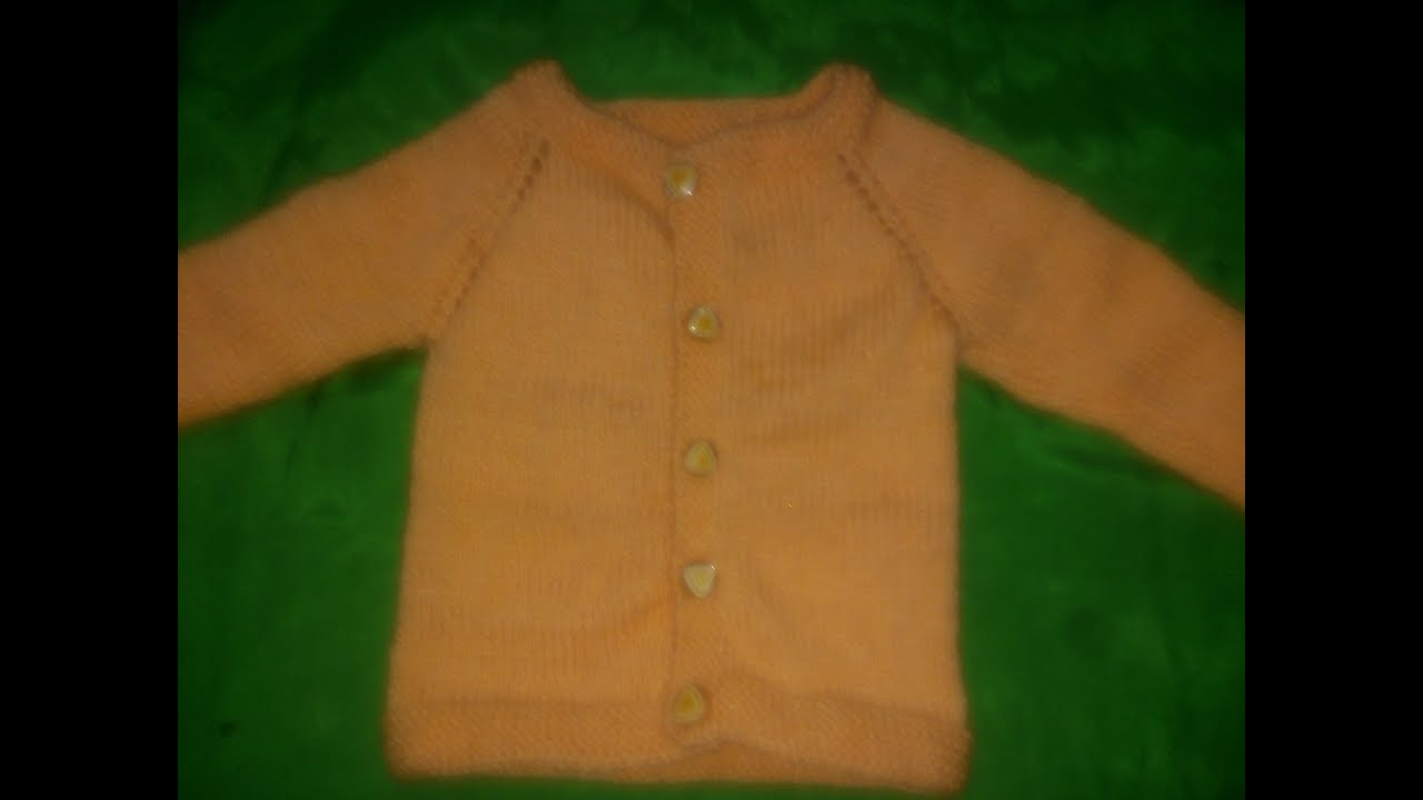 New Born Baby Sweater - One Piece full sleeves baby sweater - PART 3 ...
