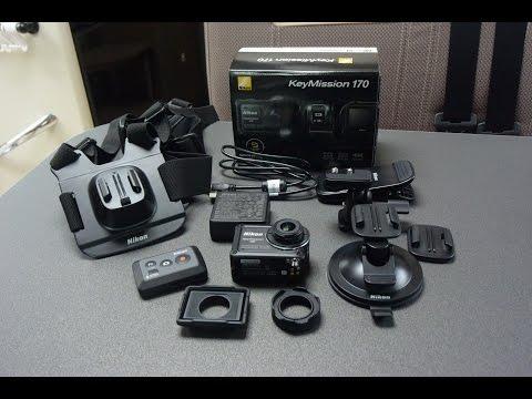 NIKONのアクションカメラ(KeyMission 170)をキャンピングカー・モーターホームに装備