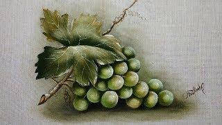 Como Pintar Uva Verde