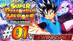 WILLKOMMEN IN DER HELDENSTADT! 🔥 #01 🐲 LET'S PLAY Super Dragon Ball Heroes: World Mission