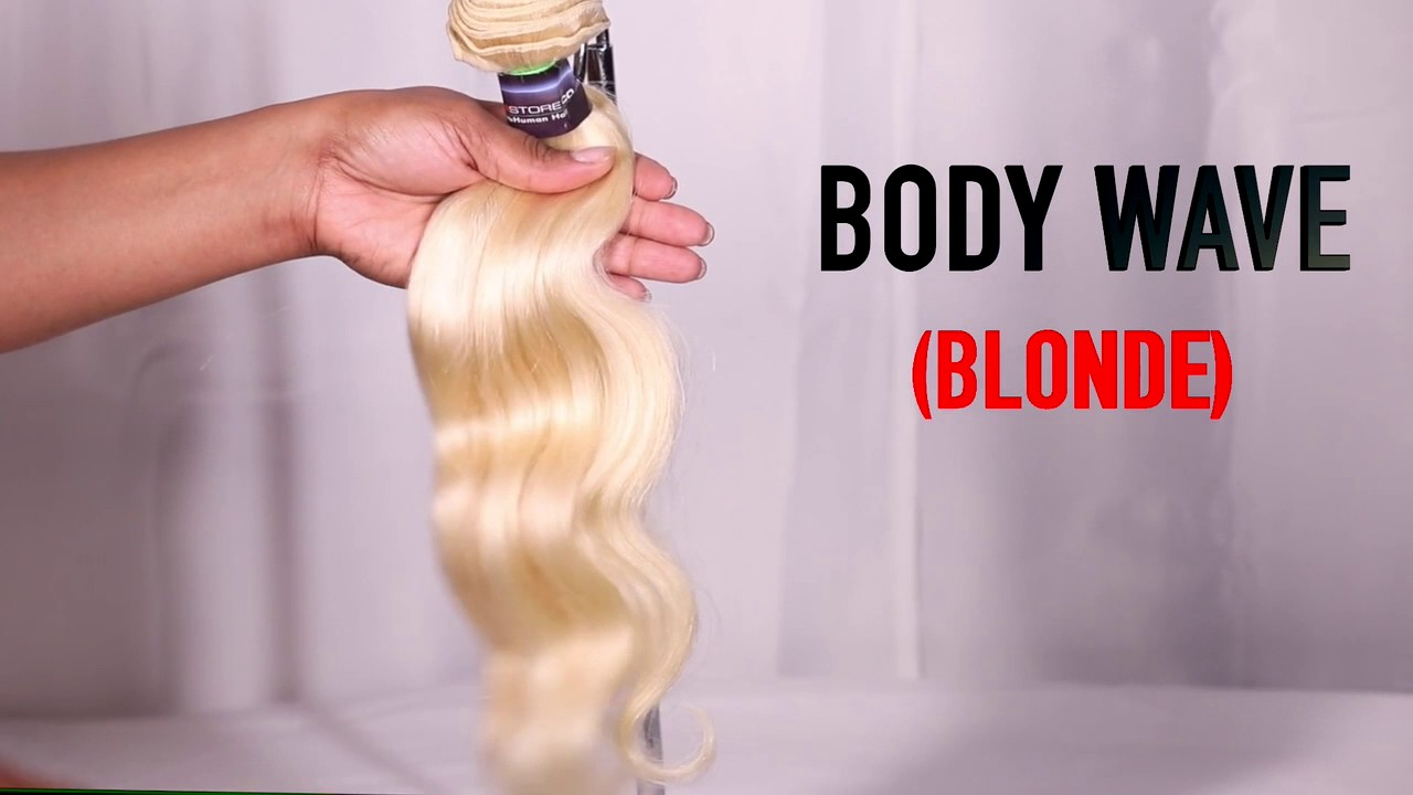 I Highest Quality I Indian Virgin Hair Extensions Blonde Body