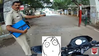Bangalore POLICE COP STOPPED ME - Why? 😱