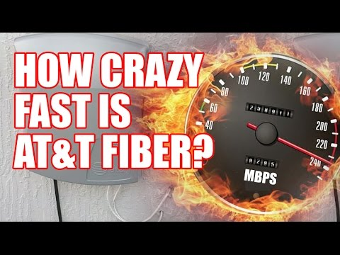AT&T Fiber SpeedTest in Jacksonville, FL