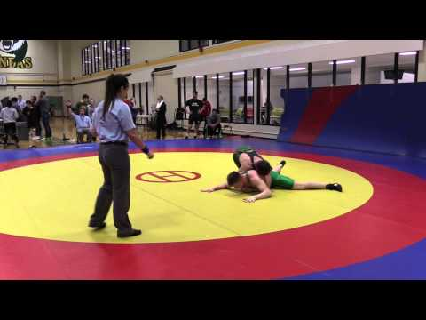 2015 Golden Bear Invitational: 82 kg Noah Bertholet vs. Clayton Brinker