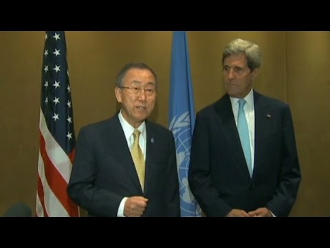 U.S., U.N. announce 72-hour unconditional cease-fire