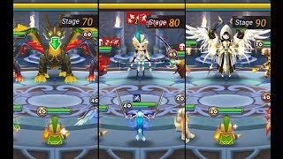 summoners war toa hard stage 70 80 90 june obtainable monster with hoh light succubus