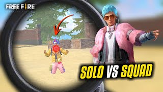 Random Fan Meetup in Solo vs Squad Ajjubhai OverPower Gameplay - Garena Free Fire