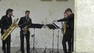 MAMBO by Christian Lauba played by the AMSTEL saxophone quartet
