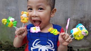Trò Chơi Bé Doli Vui Săn Bất Ngờ ❤ ChiChi ToysReview TV ❤ Đồ Chơi Trẻ Em Hubba Bubba Song