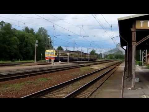 Torņakalns  (Latvia), eletric trains with nice sounds