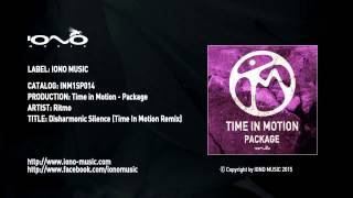 Ritmo - Disharmonic Silence (Time in Motion Remix)