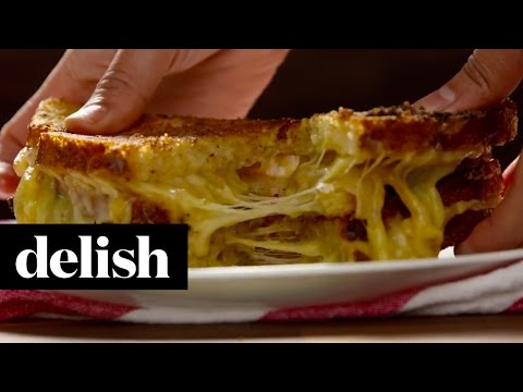 Inside Out French Onion Grilled Cheese