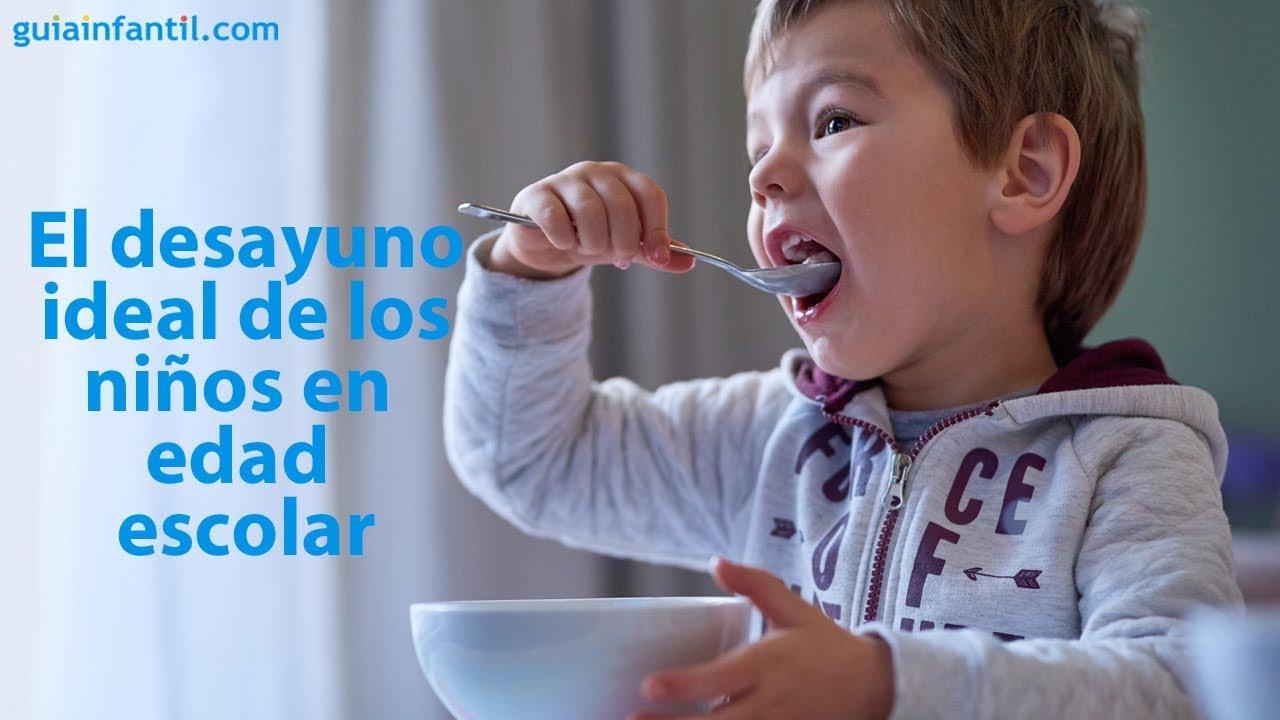 El desayuno ideal para los niños en edad escolar | #ConectaConTuHijo