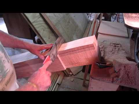 Life on a Sailboat - Shaping a Bowsprit - Pete's Woodwork