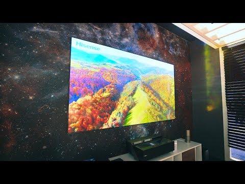 "BEST 4K TV's of 2018! - 150"" 4K LASER TV from Hisense + Budget Options!"
