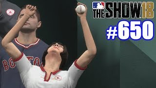 AMAZING FAN CATCH AT FENWAY! | MLB The Show 18 | Road to the Show #650