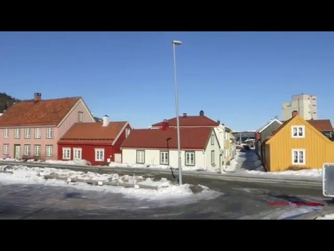 Street Scenes of Trondheim, Norway 2016 (Norway's 3rd Largerst city, in the North)
