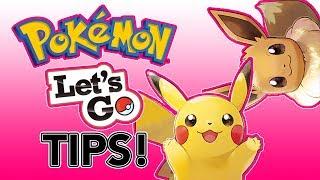 Pokémon Let's Go Tips!