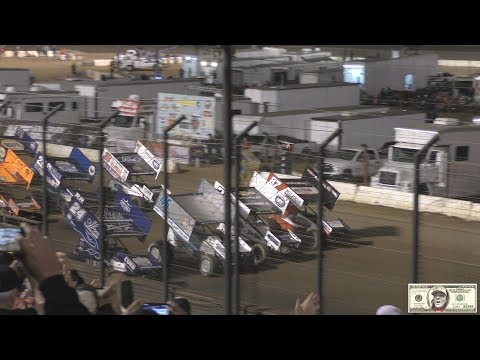 World Of Outlaws Main Event From Perris Auto Speedway in 4K