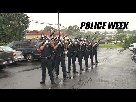 Hawaii County Police Week 2015