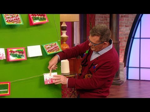 How-to-Make-a-Christmas-Tree-Out-of-Your-Holiday-Cards