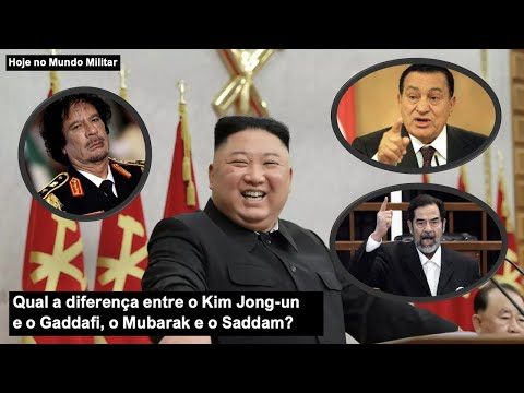 Qual a diferença entre Kim Jong-un e o Gaddafi, o Mubarak e o Saddam?