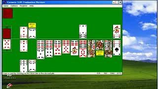 Microsoft Windows XP - Canasta 3.01