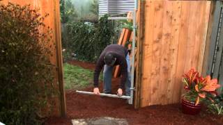 Adjust-a-gate Gate Frame Installation And Introduction Video