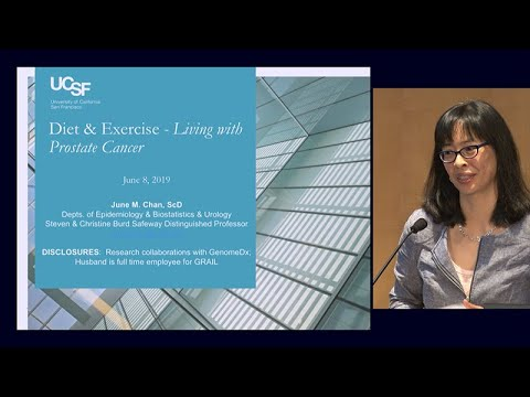 Diet And Exercise: Living With Prostate Cancer