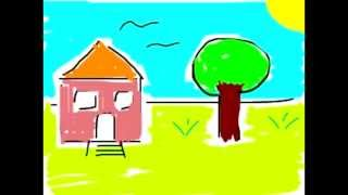 My Dream House Animation ( made by stickdraw app ) Thumbnail