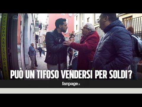 I tifosi del Napoli si venderebbero alla Juve per 100 euro? (Candid Camera)