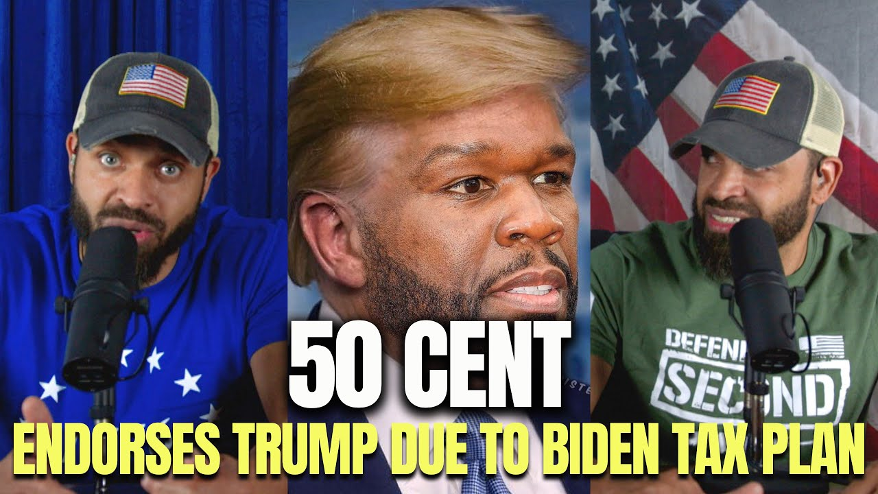 Rapper 50 Cent makes presidential endorsement over taxes