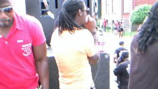 "Frassman Live Performance ""Dat Nuh Hard""    Hartford Carnival 2013     On The Road"